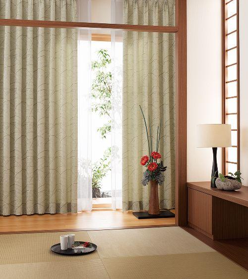 和室のカーテン ksa60163