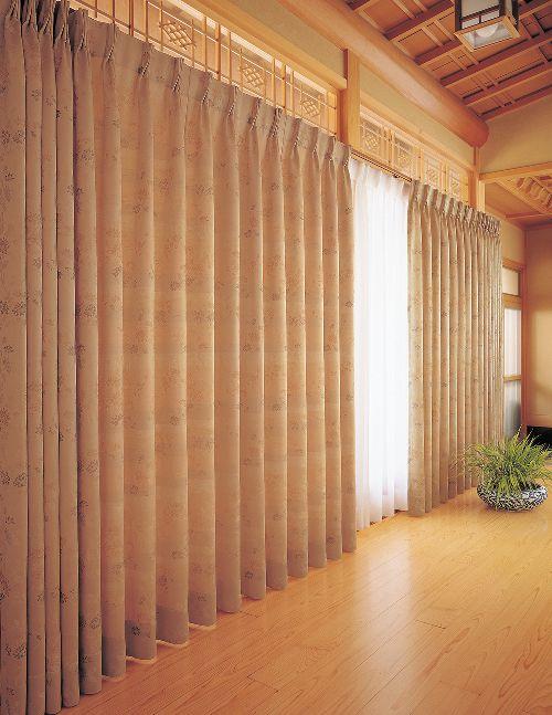 和室のカーテン ksa60167