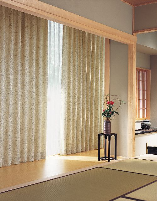 和室のカーテン ksa60173
