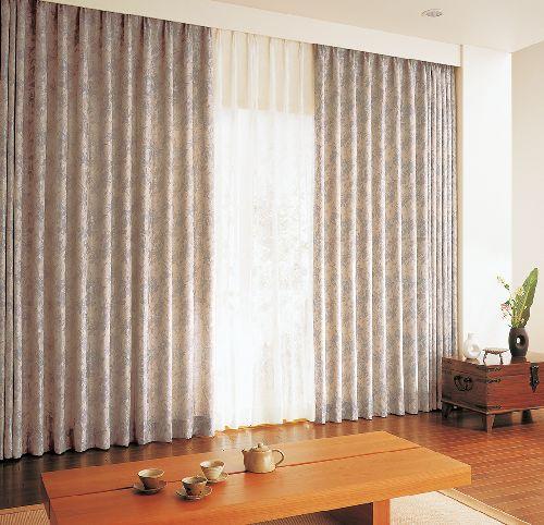 和室のカーテン ksa60174